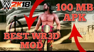 [Omg] Best WR3D WWE MOD Launched|Download And Enjoy For Free|50 MB Apk|With Latest Arenas|Must Watch