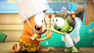 Funny Animated Cartoon | Spookiz | ❤️ Kebi's Love For Zizi ❤️ | 스푸키즈 | Cartoon For Children