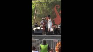 Edwin Williams w/Chandra Currelley 2016 ATL Jazz Festival