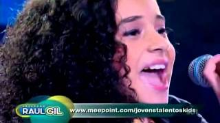 Michely Manuely - Ressuscita-me ♪ ( Programa Raul Gil - Jovens Talentos Kids Oficial HQ )