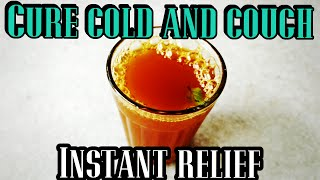 How to cure COLD and COUGH   Ayurvedic kashayam home remedy
