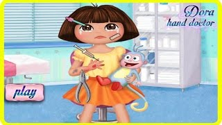 Dora The Explorer Online Flash Game - Dora Hand Doctor - Nick Jr Dora Games