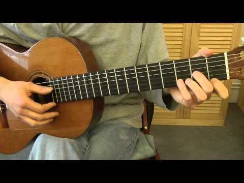 Comment jouer Bambino de Dalida à la guitare (2/2)