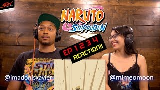 Super Reaction! First Time Watching Naruto Shippuden Episode 1 2 3 4 width=