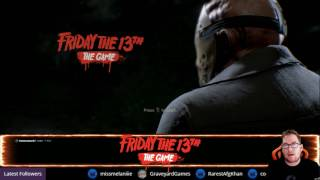 LIVE NOW - Friday The 13th The Game on Mixer