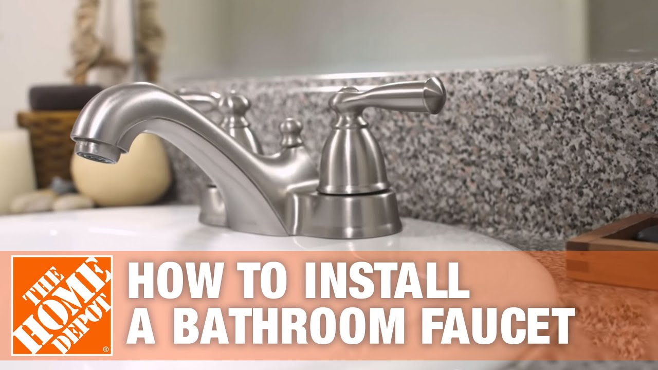 DIY Bathroom Faucet Installation: Step By Step How To ...
