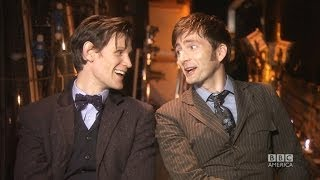 DOCTOR WHO Insider: MATT SMITH & DAVID TENNANT on Regeneration & Saying Goodbye *Exclusive*