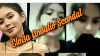 Eloisa Andalio Scandal
