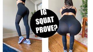 TESTING 20$ Amazon/Instagram SQUAT PROVE YOGA PANTS/ Amazon unboxing yoga pants