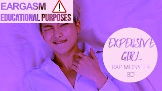 RM (BTS) - EXPENSIVE GIRL [8D USE HEADPHONES] 🎧