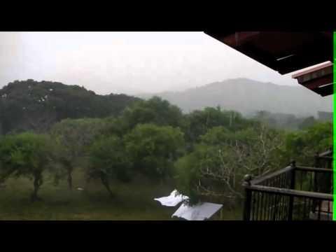 Un poco de lluvia en Nicaragua