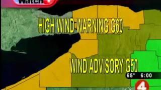 High winds threaten WNY