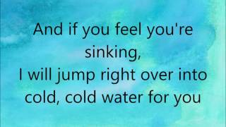 Major Lazer - Cold Water (feat. Justin Bieber & MØ) Lyrics
