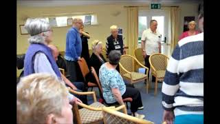Second Chance Stroke Club Physiotherapy session