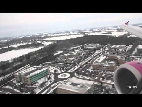 Airbus 320 Landing at London Luton Full HD
