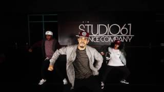 "Kevin ""Chocolate Droppa"" Hart & Trey Songz  | Push It On Me  | Choreography by Christian Castillo"
