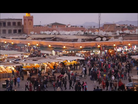 Jamma el Fna Marrakesh Morroco.wmv