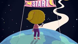 Animatie video Run to the Moon and Back!