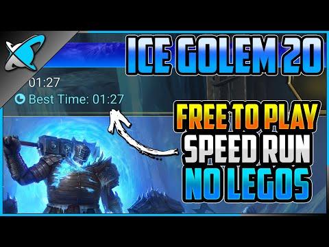 "Ice Golem 20 ""Free To Play"" SPEED RUN !! | NO LEGENDARIES !! | RAID: Shadow Legends"