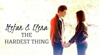 Stefan and Elena | the hardest thing I've had to do Is live without you