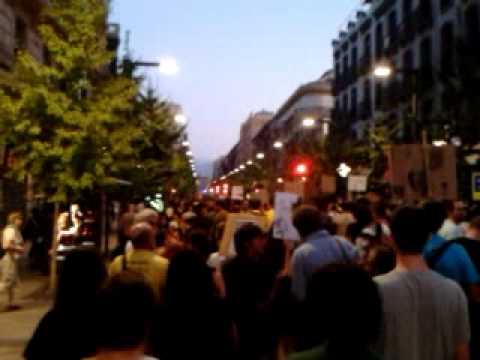 Manifestacion Granada 15octubre 2011 #4