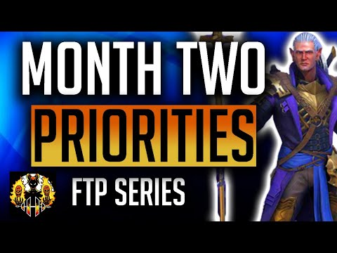 RAID: Shadow Legends | Month 2 Free to Play | What are my priorities?!