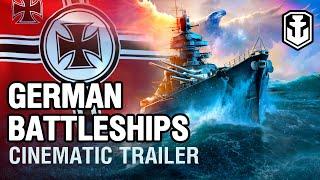World of Warships - German Battleships