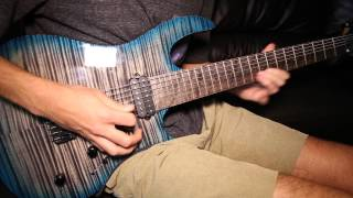 Reign of Darkness Solo Cover - Thy Art is Murder (Carvin DC7x, Line 6 POD HD500x)