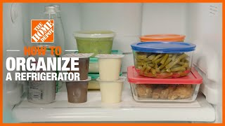 A video outlining refrigerator organization.