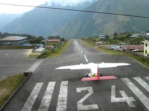 Lukla take off