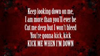 Kick Me - Sleeping With Sirens (Lyrics)