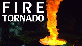 Building A Fire Tornado + Flame Colorant & Slow Motion - NightHawkInLight