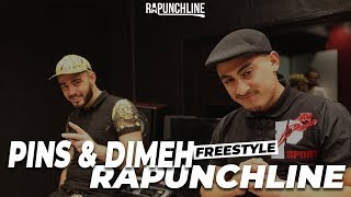 Pins & Dimeh - Freestyle Rapunchline