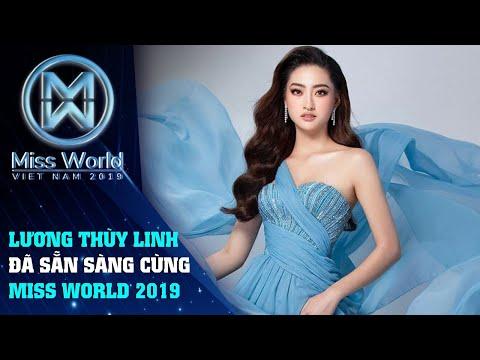 Hoa hậu Lương Thùy Linh trước ngày lên đường đến Miss World 2019