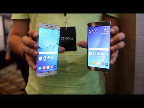نظرة اولى على جهاز Samsung Galaxy Note 5 & Galaxy S6 Edge Plus