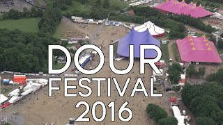 DOUR FESTIVAL 2016 From The Sky