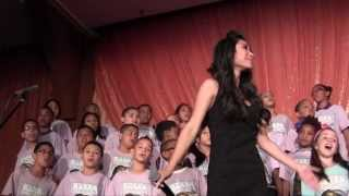 """Clarity"" Jessica Sanchez & PS22 Chorus @ Trevor LIVE NYC!"