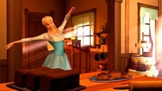 Barbie of Swan Lake -  Odette dancing in the village bakery