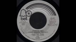 1974_082 - Tony Orlando and Dawn - Steppin' Out (Gonna Boogie Tonight) - (2.52)(45)