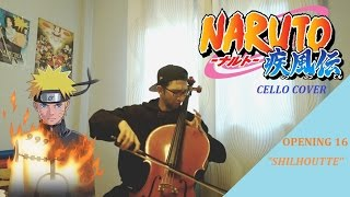 Naruto Shippuden Opening 16: CELLO version KANA-BOOM Shilhoutte (シルエット) LIVE