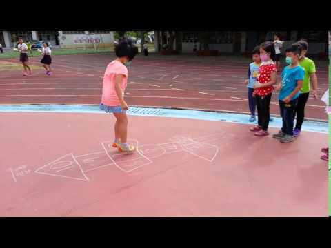 20161121畫格子跳房子6 - YouTube