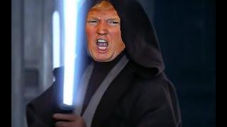Darth Trumper in his victory speech (parody)