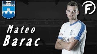 Mateo Barac - Defensive Skills, Tackles, Goals - NK Osijek   2017