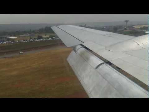 DC 4 SAA Landing @ Waterkloof AFB