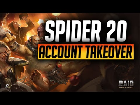 Spider 20 Takeover and Team Build! | Raid: Shadow Legends