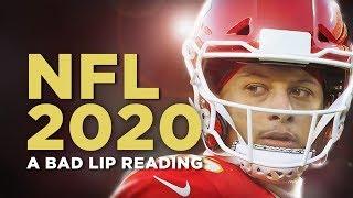 NFL 2020  — A Bad Lip Reading