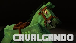 Minecraft Mini Games : Cavalgando Ganhei ??
