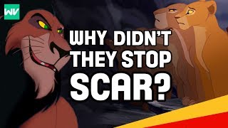 Why Didn't The Lionesses Overthrow Scar? | Lion King: Discovering Disney