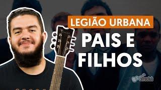 Videoaula Pais e Filhos (aula de violão)