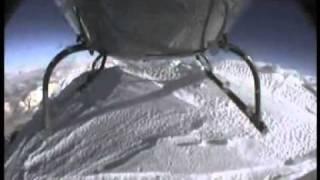 HELICOPTER LANDS ON MOUNT EVEREST